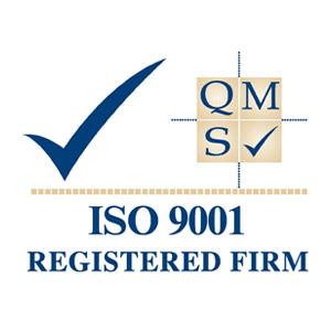 ISO 9001 Registered Firm